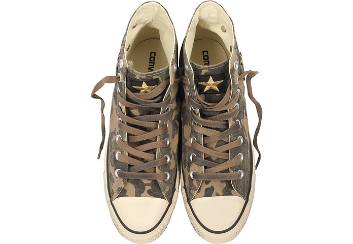 e830ab7553e323 Chuck Taylor All Star High Military Patchwork Canvas LTD Unisex Sneakers -  Converse Limited Edition. £67.50 £135.00 Actual transaction amount