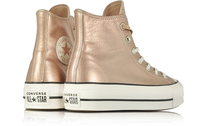 ba458efe7db3 Chuck Taylor All Star High Metallic Sneakers - Converse Limited Edition.  AU 147.00 AU 245.00 Actual transaction amount