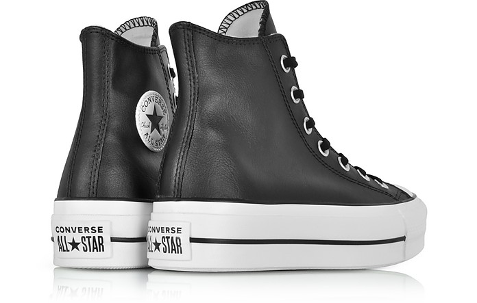0d2374c1a9e ... Lift Clean Black Leather High Top Platform Sneakers - Converse Limited  Edition. AU 97.60 AU 244.01 Actual transaction amount