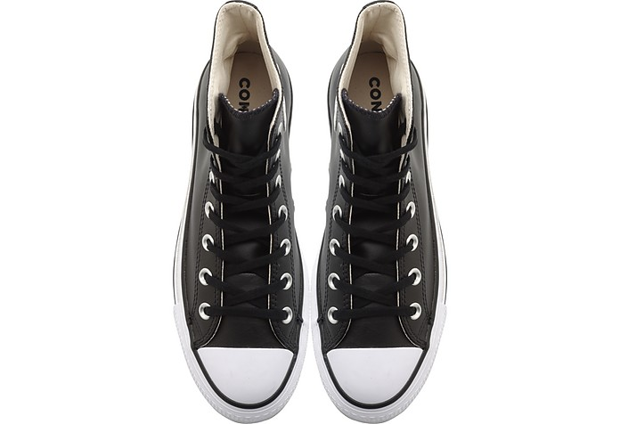 3cea89b25b5 Chuck Taylor All Star Lift Clean Black Leather High Top Platform Sneakers - Converse  Limited Edition. AU 97.60 AU 244.01 Actual transaction amount