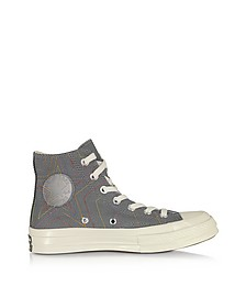 Black Chuck 70 Rainbow High Top