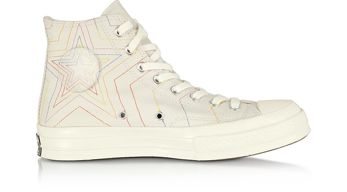 White Chuck 70 Rainbow High Top - Converse Limited Edition