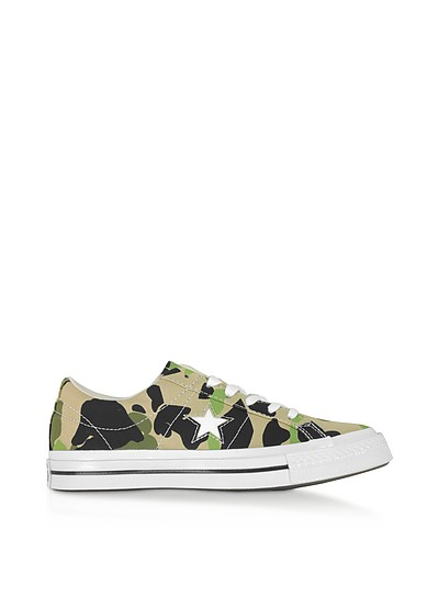One Star w/ Archive Prints Remix Low Top - Converse Limited Edition