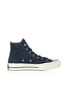 Obsidian Chuck 70 Leather High Top