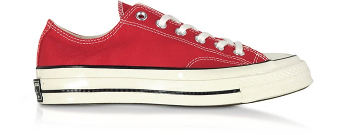 Red Chuck 70 w/ Vintage Canvas Low Top - Converse Limited Edition