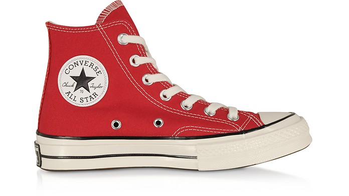 classic sports shoes new style Red Chuck 70 w/ Vintage Canvas High Top