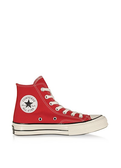 Red Chuck 70 w/ Vintage Canvas High Top - Converse Limited Edition