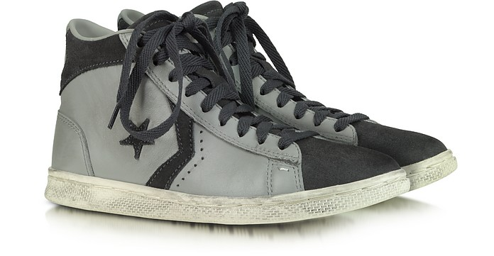 Pro Leather Mid Leather and Suede Sneaker - Converse Limited Edition