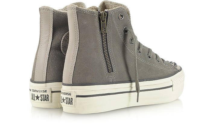 b7fbc881551951 Ct Platform Zip   Stud Suede High Top Sneaker - Converse Limited Edition.  Sold Out