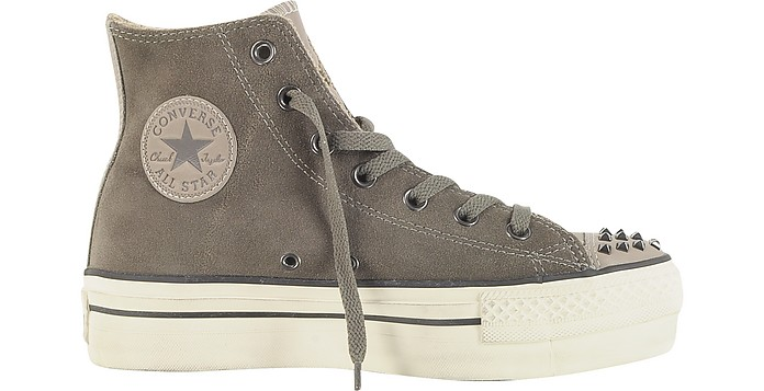 82b22ac9ffdc Ct Platform Zip   Stud Suede High Top Sneaker - Converse Limited Edition.   200.00 Actual transaction amount
