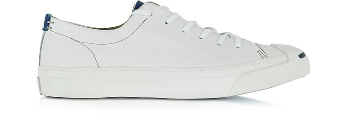 bc802db00d42 Jack Purcell LTT Ox White and Road Trip Blue Men s Sneaker - Converse  Limited Edition