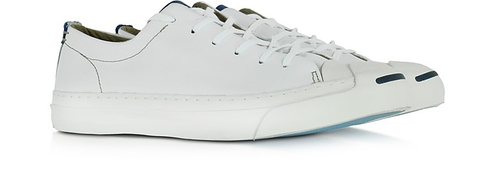 4a3eacc9f618 Jack Purcell LTT Ox White and Road Trip Blue Men s Sneaker - Converse  Limited Edition. Sold Out