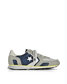 Auckland Racer Distressed Ox Athletic Navy, Ghost Gray und Buff Herren-Sneaker - Converse Limited Edition