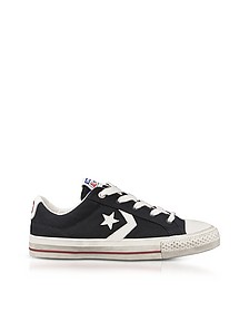 Black Star Player Distressed Ox Canvas Men's Sneakers - Converse Limited Edition