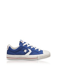 Blue Star Player Distressed Ox Canvas Men's Sneakers - Converse Limited Edition