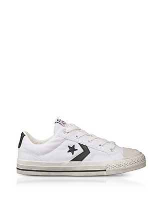 White Star Player Distressed Ox Canvas Men's Sneakers - Converse Limited  Edition