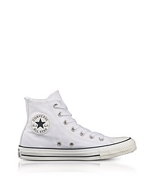 Chuck Taylor All Star High 白色帆布运动鞋 - Converse Limited Edition  匡威