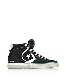 Pro Leather Vulc Distressed - Sneakers Mi-hautes Homme en Suède Noir - Converse Limited Edition