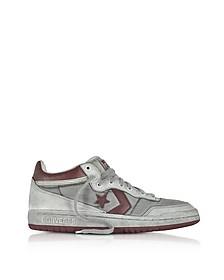 Fast Break 83 - Sneakers Mi-hautes Homme en Cuir Bordeaux - Converse Limited Edition