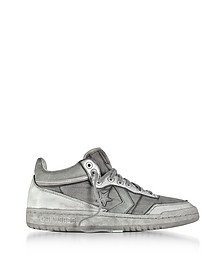 Fast Break 83 Mid LTD Smoke Leather Sneakers - Converse Limited Edition