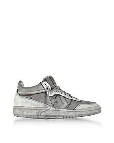 Fast Break 83 - Sneakers Mi-hautes Homme en Nylon et  Cuir Gris - Converse Limited Edition