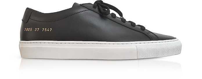 Black Original Achilles Low Women's Sneakers - Common Projects