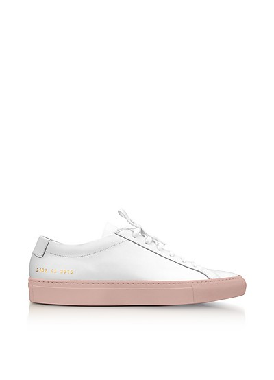 Baskets En Cuir Tournament - Rose poudréCommon Projects CTzZTQL