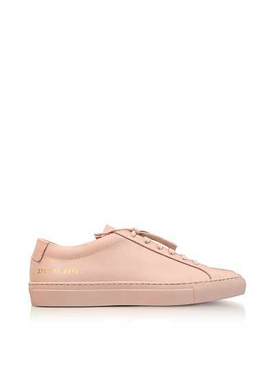 Baskets En Cuir Tournament - Rose poudréCommon Projects FTXHwnpfI