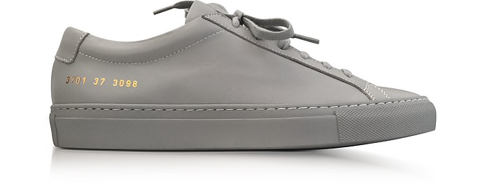 Ash Leather Achilles Original Low Top Women's Sneakers - Common Projects / コモンプロジェクト