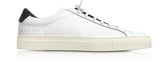 Vintage Sole Achilles Low Sneaker in White