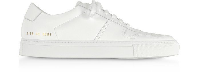 Leather Low White Bball Sneakers Men's J3TKlF1c