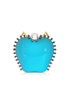 Turquoise Mirror Mylie Clutch - Carlotta Roma