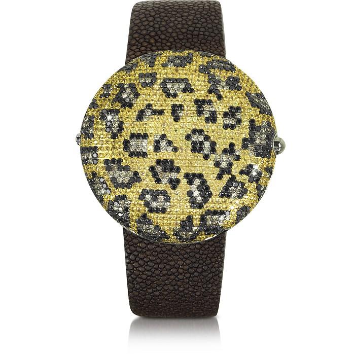 Clou Leopard Diamond Dinner Watch - Christian Koban