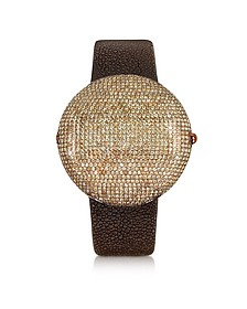 Clou Brown Diamond Dinner Watch
