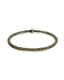Clou Brown Diamond Bracelet