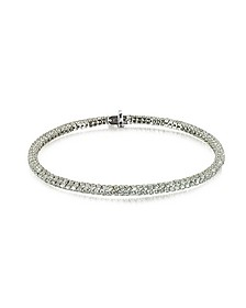 Clou White Diamond Bracelet