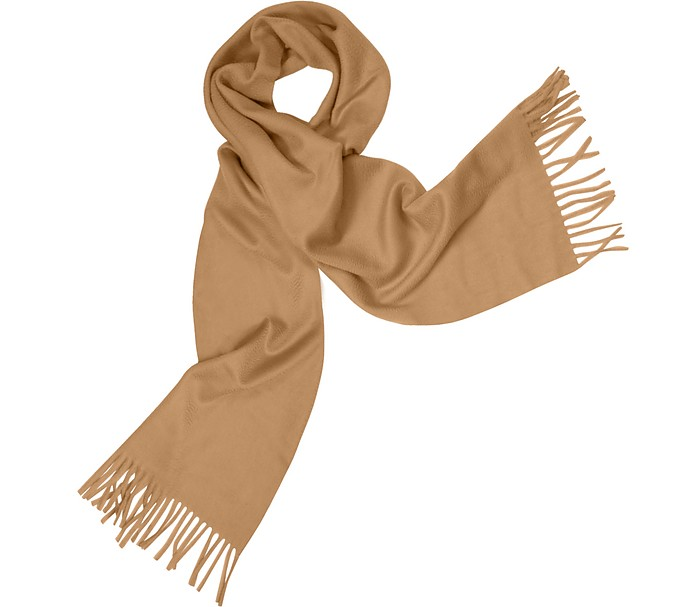 Cashmere Fringed Long Scarf - Coveri Collection