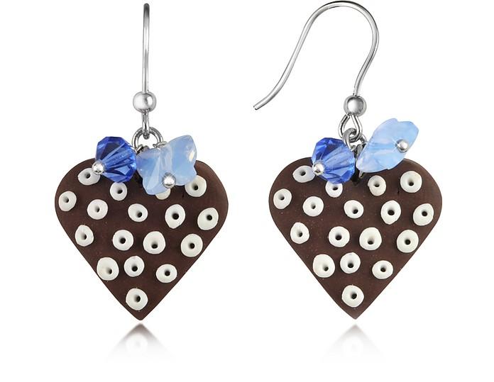Heart Cake Earrings - Dolci Gioie