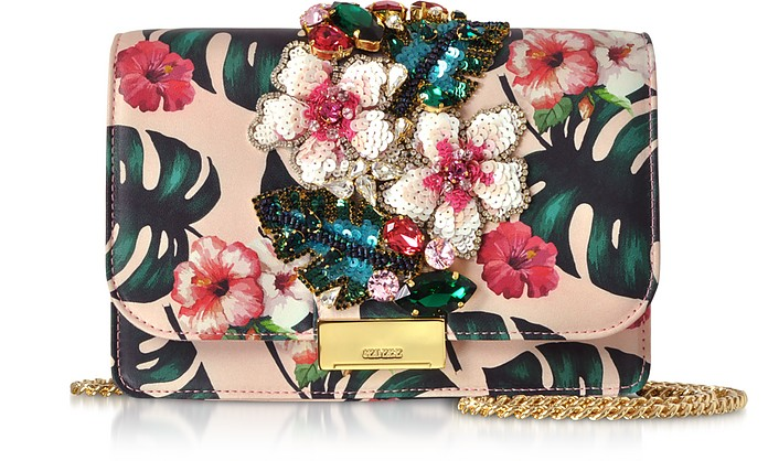 Cliky Pink Monstera Clutch - Gedebe
