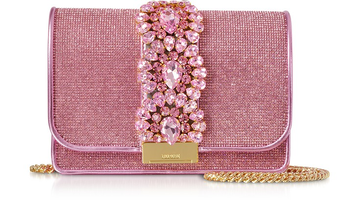Cliky Light Rose Crystals Clutch - Gedebe / ゲデベ
