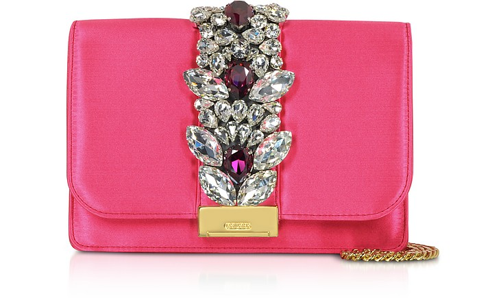 Satin Cliky Clutch - Gedebe