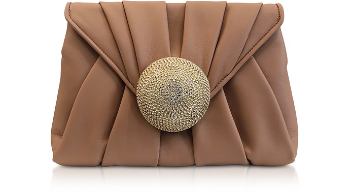 Claire Nappa Clutch - Gedebe