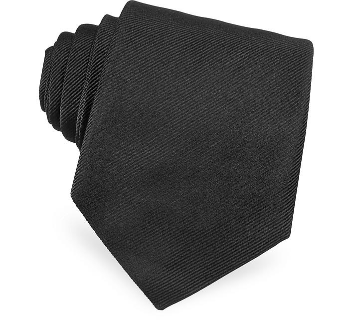 Solid Twill Silk Tie - Dolce & Gabbana