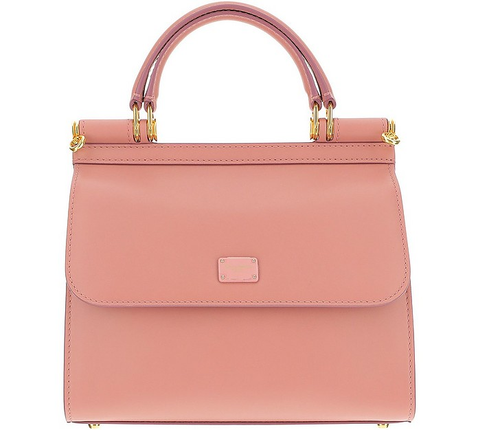Small Pink Sicily Bag 58 - Dolce & Gabbana
