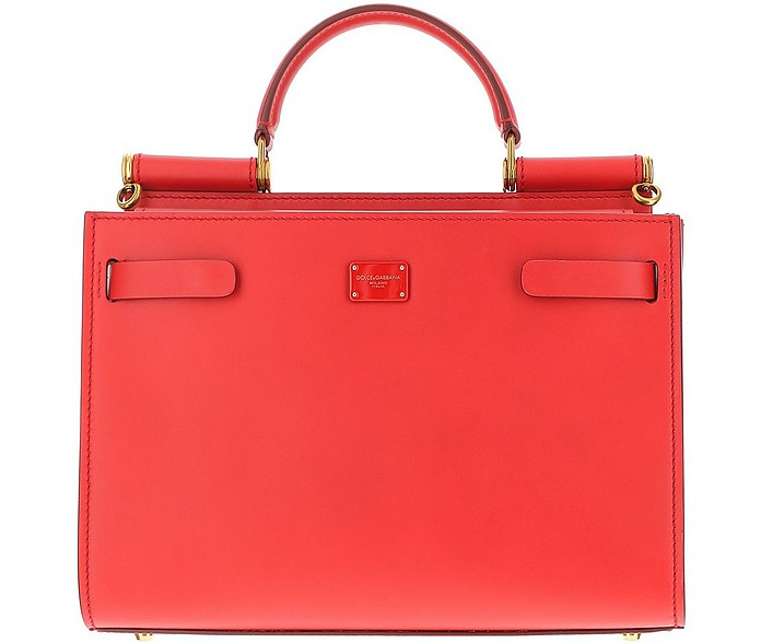 Sicily Bag 92 Red Handbag - Dolce & Gabbana