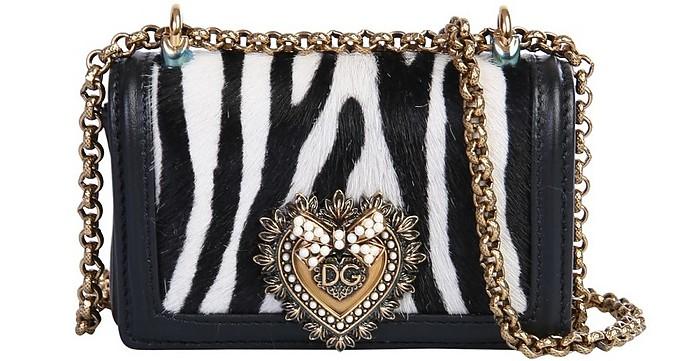 Zebra Mini Devotion Bag - Dolce & Gabbana