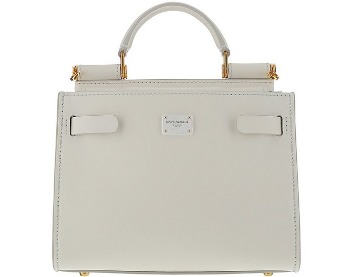 White Sicily 62 Mini Bag - Dolce & Gabbana