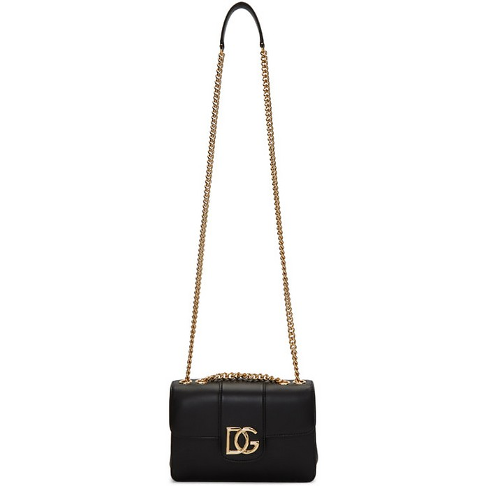 Black DG Shoulder Bag - Dolce & Gabbana