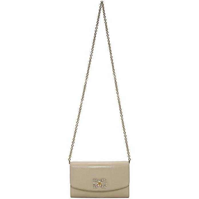 Beige Iguana Mini DG Bag - Dolce & Gabbana