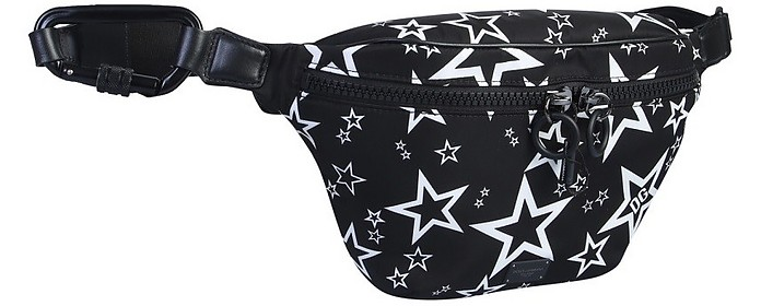 Black Star Printed Nylon Belt Bag - Dolce & Gabbana 杜嘉班纳